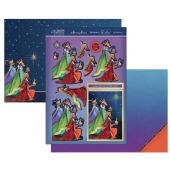 Hunkydory Die-Cut Topper Set - We Three Kings